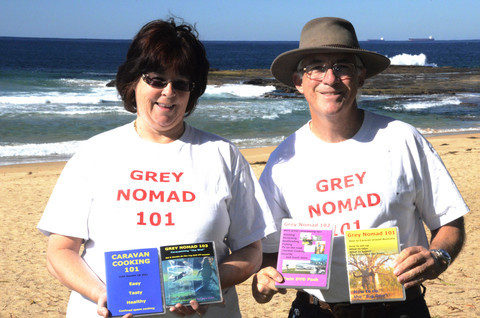 Grey Nomads 101 Sid Whiting with Sandy