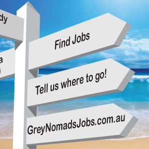 Tell Grey Nomads Jobs where to go